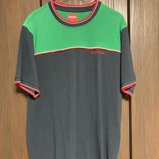 シュプリーム(Supreme)の18S/S Supreme Contrast Yoke Pique Top L(Tシャツ/カットソー(半袖/袖なし))
