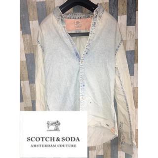 SCOTCH & SODA - スコッチアンドソーダ  SCOTCH&SODA デニム風シャツM