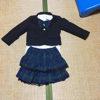 シマムラ(しまむら)の120㎝ しまむら 購入 フォーマル スーツSET(ドレス/フォーマル)