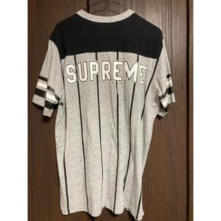 シュプリーム(Supreme)の17S/S Supreme Pinstripe S/S Football Top(Tシャツ/カットソー(半袖/袖なし))