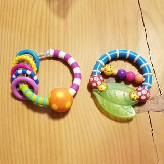 サッシー(Sassy)の専用☆sassy ベビーおもちゃ2点セット 出産準備(がらがら/ラトル)