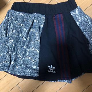 アディダス(adidas)のadidas スカート160cm(ミニスカート)