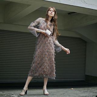 Ameri VINTAGE - Ameri VINTAGE 4WAY MOTIF DIVERSITY DRESS