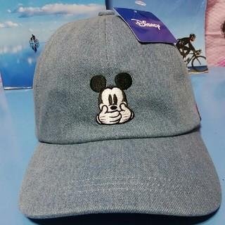 ディズニー(Disney)の最新ミッキーデニムキャップ(キャップ)