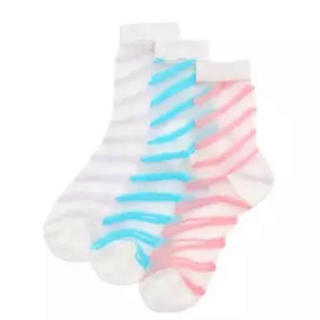 WEGO - 最終値下げ 新品 WEGO ウィーゴー シースルー靴下 3足セット