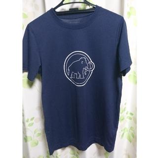 マムート(Mammut)のMAMMUT Tシャツ ネイビー M(Tシャツ/カットソー(半袖/袖なし))