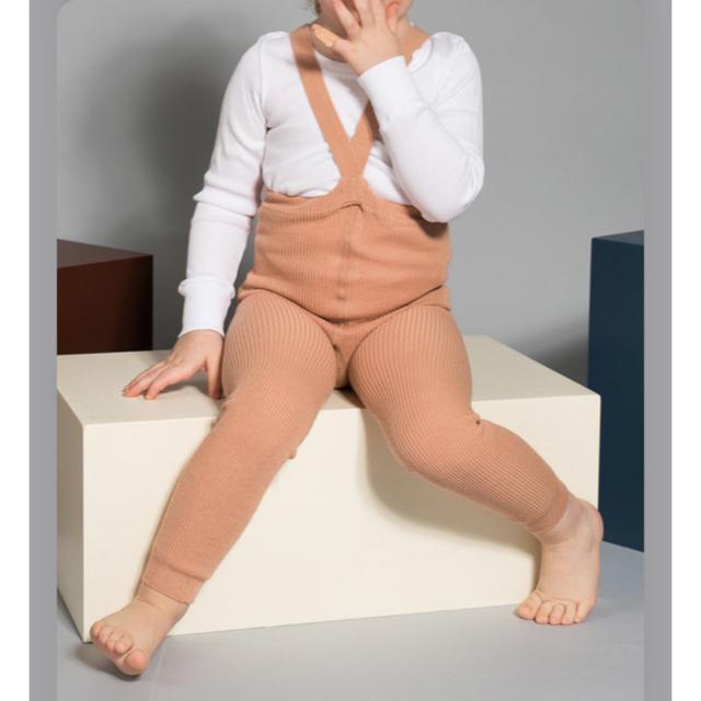 Caramel baby&child (キャラメルベビー&チャイルド)のシリーサイラス レギンス1-2yライトブラウン キッズ/ベビー/マタニティのキッズ服女の子用(90cm~)(パンツ/スパッツ)の商品写真