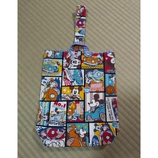 ディズニー(Disney)の☆上履き入れ ミッキー☆ ハンドメイド(シューズバッグ)