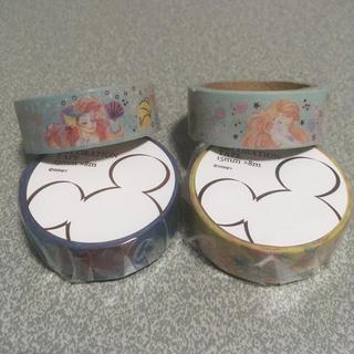 ディズニー(Disney)のアリエル マスキングテープ4個セット(テープ/マスキングテープ)