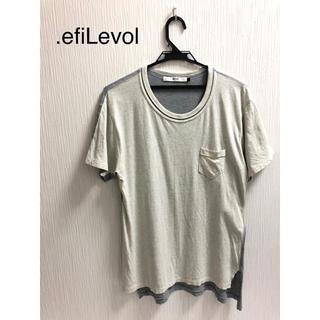 エフィレボル(.efiLevol)の.efiLevol(エフィレボル) Tシャツ 半袖(Tシャツ/カットソー(半袖/袖なし))
