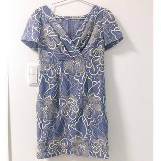グレースコンチネンタル(GRACE CONTINENTAL)のダイアグラム ドレス(ミディアムドレス)