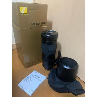 ニコン(Nikon)の【美品】Nikon AF-S 200-500F5.6E ED VR(レンズ(ズーム))