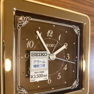 新品未使用 セイコー 目覚まし時計