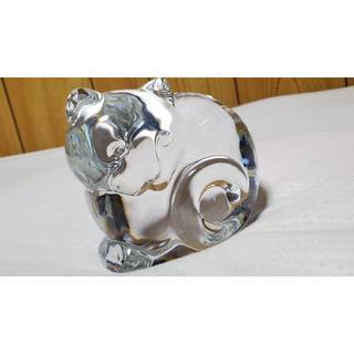 ティファニー(Tiffany & Co.)の正規未 限定 ティファニー アンティークキャット オブジェ 猫 ペーパーウェイト(置物)