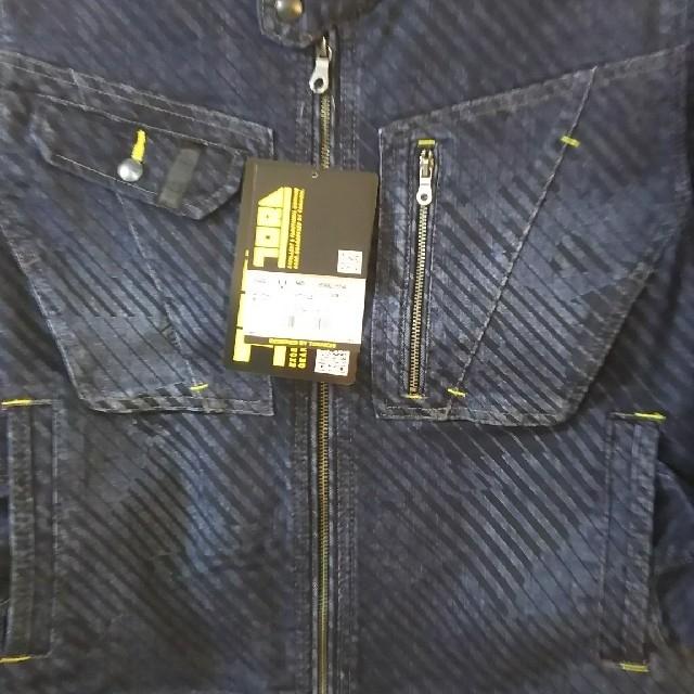寅壱(トライチ)の寅壱限定デニム蛇腹上下セット‼️サイズM メンズのスーツ(セットアップ)の商品写真