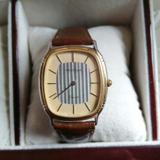 ウォルサム(Waltham)のヴィンテージWALTHAM変わり文字盤メンズクォーツ腕時計動作品(腕時計(アナログ))