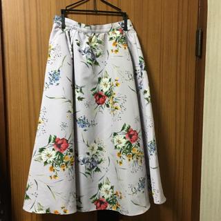 Noela - ノエラ ボタニカル柄 スカート 即決支払いの方のみ値下げします!