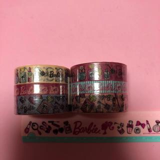 バービー(Barbie)のBarbieマスキングテープセット(テープ/マスキングテープ)