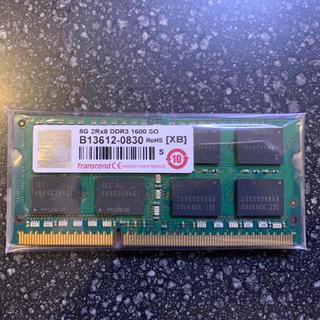 Transcend - Transcend DDR3 1600 8GB ノート、省スペースPC用メモリ