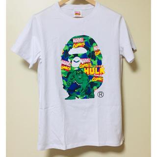 A BATHING APE - A bathing ape * MARVEL コラボTシャツ