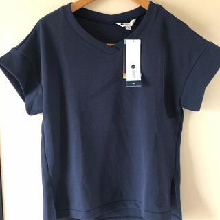 MIZUNO - 値下げ ミズノ クイックドライワッフルTシャツ ネイビー 新品