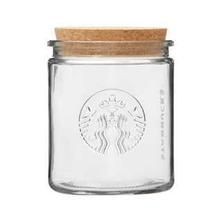Starbucks Coffee - スターバックス スタバ ガラスキャニスター