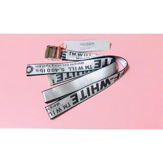 OFF-WHITE - 新品 OFF-WHITE INDASTRIAL BELT ロングタイプ