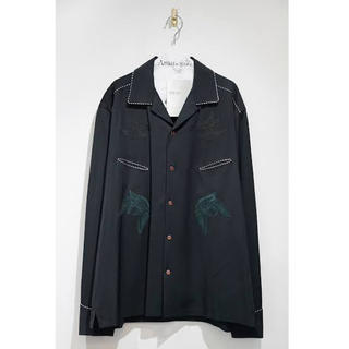 TOGA - toga virils 19aw rayon gabardine shirt