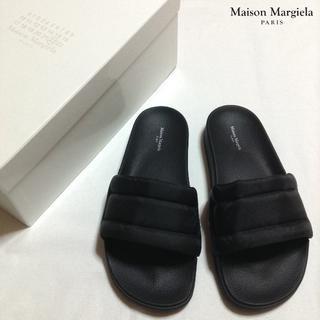 マルタンマルジェラ(Maison Martin Margiela)の新品■40■25cm■マルジェラ 18aw■黒■フューチャーサンダル■8368(サンダル)