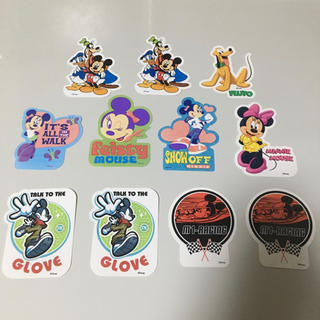 ディズニー(Disney)のSandylion Disney ステッカー11枚セット(しおり/ステッカー)