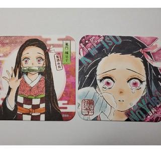 鬼滅の刃 アートコースター 禰豆子(キャラクターグッズ)