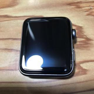 アップルウォッチ(Apple Watch)のApple Watch series 3 42mm (ジャンク)(腕時計(デジタル))