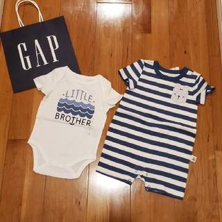 ベビーギャップ(babyGAP)の70 ショートオール&ロンパース(ロンパース)