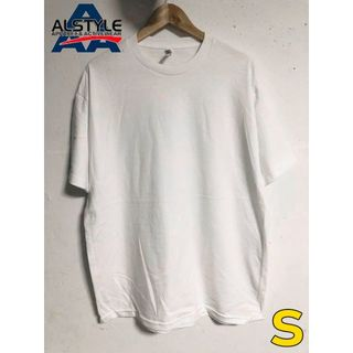 トリプルエー(AAA)のalstyle アルスタイル 6.0oz S ホワイト 白 半袖 無地 Tシャツ(Tシャツ(半袖/袖なし))