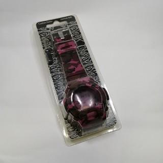 G-SHOCK DW-6900専用着せ替えカバー 迷彩ピンク(腕時計(デジタル))