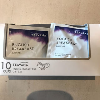 スターバックスコーヒー(Starbucks Coffee)のスタバ ブラックティー スターバックス 10袋 紅茶 ティバーナ (茶)