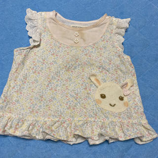 クーラクール(coeur a coeur)の夏服 クーラクール80cm Tシャツ 難あり(Tシャツ)