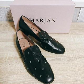イエナ(IENA)のMARIAN マリアン 靴 スワロフスキー (ローファー/革靴)