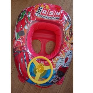 ディズニー(Disney)の【難あり】カーズ 車型浮き輪 (その他)