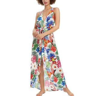 デシグアル(DESIGUAL)の新品✨タグ付き♪ 水着の上からさっと羽織れるワンピース♡デシグアル 大特価‼️(その他)