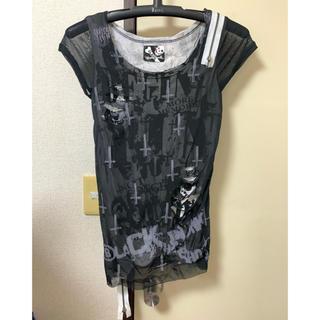 グラビル バイ チュチュア(GLAVIL by tutuHA)のGLAVIL ダメージ加工Tシャツ(Tシャツ(半袖/袖なし))