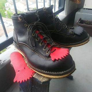 ウエスコ(Wesco)のWESCO JOB MASTER ブラック/クレープソール サイズ8.5E(ブーツ)