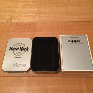 ジッポー(ZIPPO)のZippo ハードロックカフェ 空箱 (タバコグッズ)