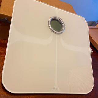 Fitbit Aria Wi-Fi Smart Scale 体重計 White