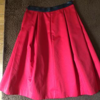 マリークワント(MARY QUANT)のマリクワ 綺麗目 スカート(ひざ丈スカート)