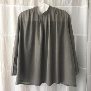 エヴァムエヴァ(evam eva)のevam eva stand collar shirt 2019SS(シャツ/ブラウス(長袖/七分))