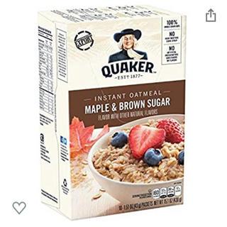 オートミール クエーカー メープルブラウンシュガー(米/穀物)