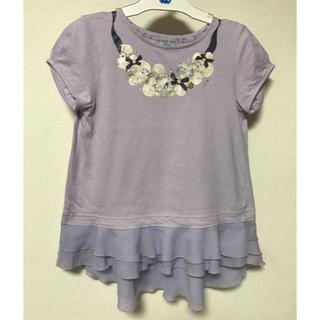 アナスイミニ(ANNA SUI mini)のANNASUI mini♡アクセサリーモチーフTシャツ130(Tシャツ/カットソー)