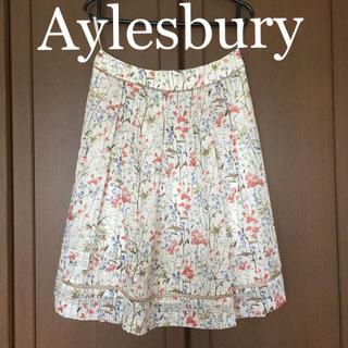 【美品】フレアスカート 花柄 春夏 Aylesbury  アリスバーリー