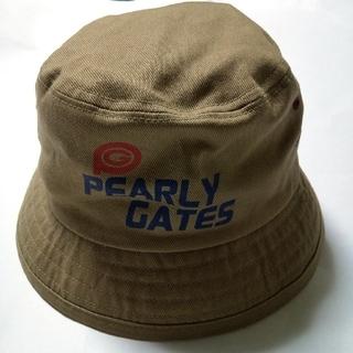 パーリーゲイツ(PEARLY GATES)の【値下げ❗️】☆PEARLY GATES☆バケットハット カーキ(ハット)